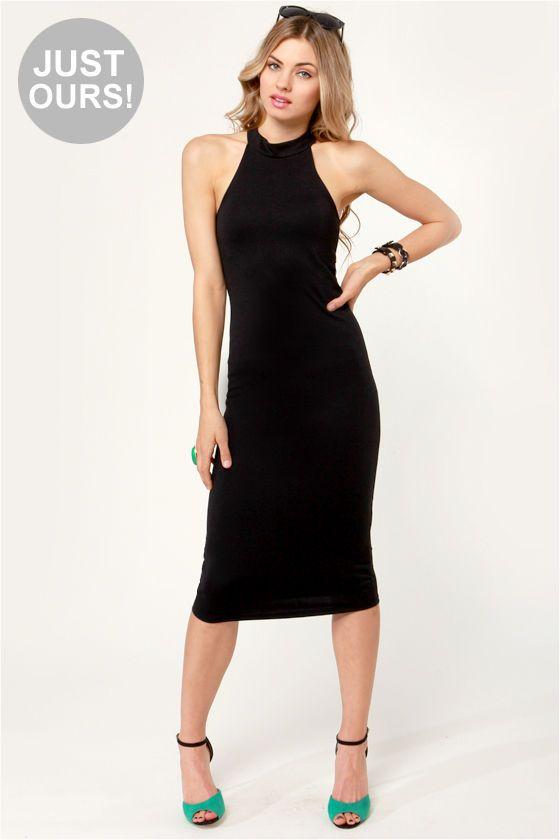 Fashion Halter Dress