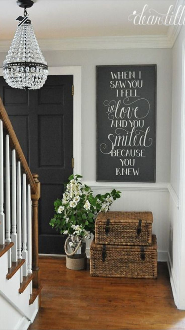 Foyer Paint Quote : Best entryway quotes on pinterest small entrance