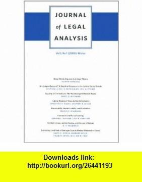 Journal of Legal Analysis, Volume 1 Number 2 (2009) Summer (9780674053458) J. Mark Ramseyer, Richard Craswell, Mathew D. McCubbins, Daniel Rubinfeld, Steven Shavell , ISBN-10: 0674053451  , ISBN-13: 978-0674053458 ,  , tutorials , pdf , ebook , torrent , downloads , rapidshare , filesonic , hotfile , megaupload , fileserve