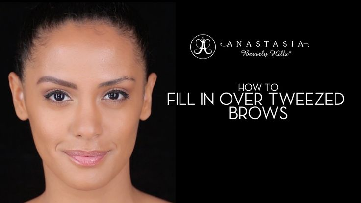 In this video Anastasia Soare demonstrates how to fill in over tweezed brows. The technique used for Sandy can be modified using the product of your choice t...