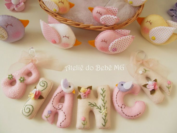 Ateliê do Bebê MG...These look simple but are really not so easy to create with such smoothness.  Beautiful work!  clb