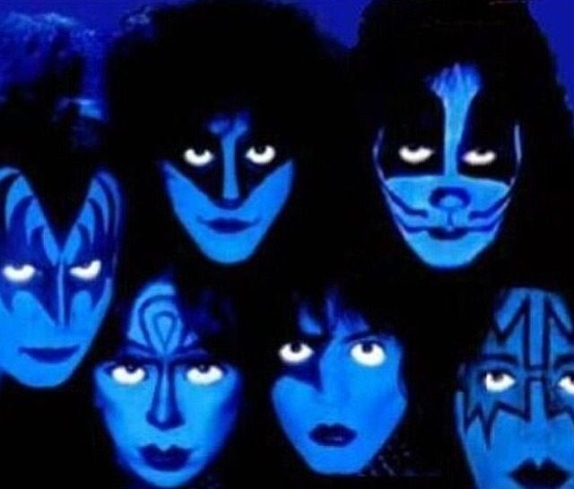 Kiss Band Members With Makeup: 208 Best Images About Kiss The Band On Pinterest