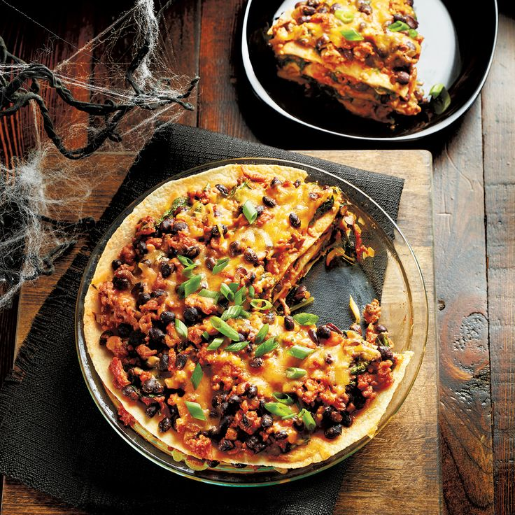 The only scary thing about this @livebettermag dish is that there won't be any leftovers. #halloween #recipe #dinner #meal