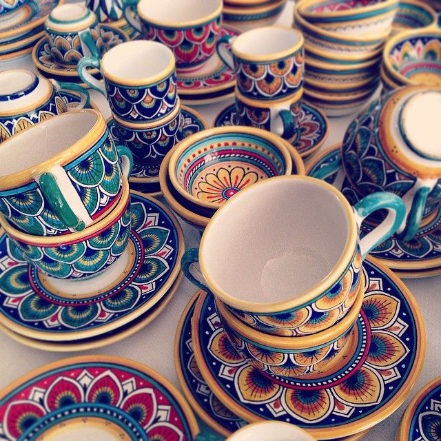 #sberna #art #pottery #ceramics #deruta #madeinitaly #love #handmade  sc 1 st  Pinterest & 116 best Deruta ceramic Italy images on Pinterest   Italian pottery ...