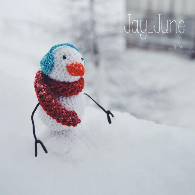 Snowman | Amigurumi | Crochet | DIY | Handmade | Crocheting
