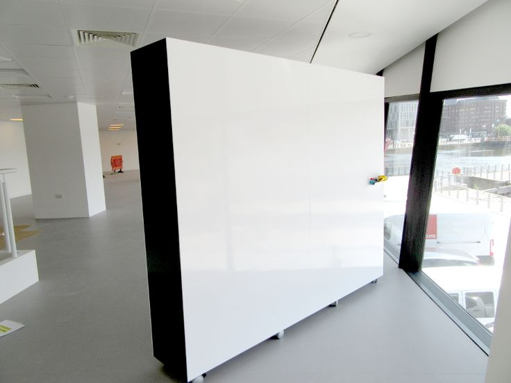 mobile whiteboard wall