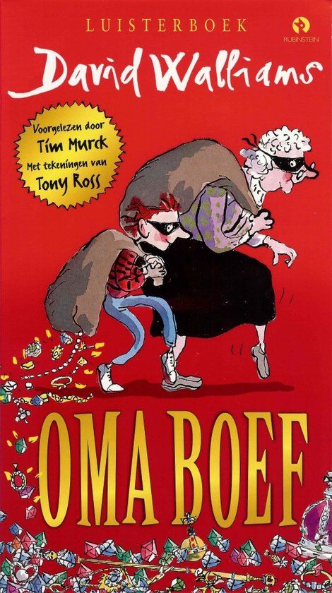 Oma Boef (mp3-download luisterboek, dus geen fysiek boek of CD!)