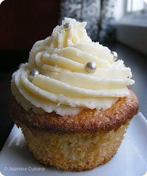 Jasmine Cuisine: Cupcakes au champagne