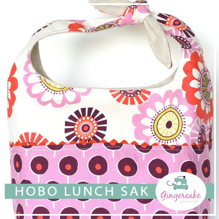 THe Hobo Lunch Sak is fun, stylish, and designed to make bringing your lunch to school or work extra special!  Say good bye to paper and plastic sacks and say hello to a cute and functional lunch bag.This is a PDF pattern that you will receive a direct link to download as soon as your purchase is complete.  The Hobo Style Lunch Sak is a 10 page long document and is full of bright pictures and simple instructions.  Printable pattern pieces are also included.The lunch bag is m...