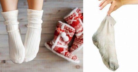 Truco ecológico para limpiar tus calcetines y dejarlos impecables