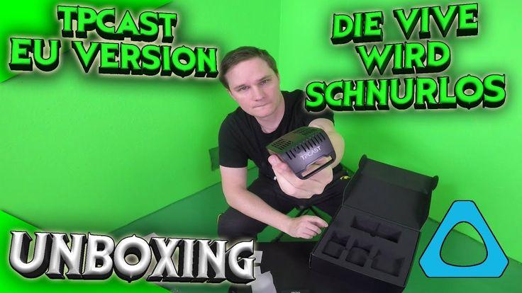 Die Vive wird endlich schnurlos! Unboxing TPCast EU-Version!! [German][HTC Vive][Virtual Reality] by VoodooDE