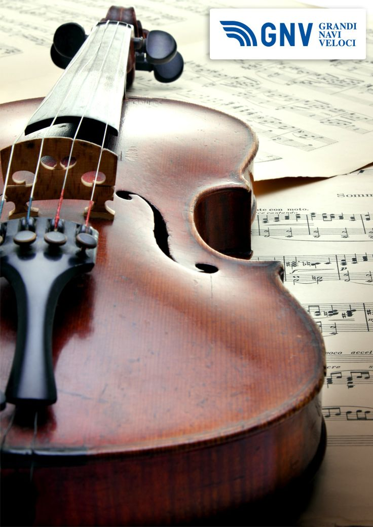 Classic #music is part of the #Italian culture, so #violins became objects of #design: #Paganini doesn't repeat! :)  Discover #GNV routes in our website: http://www.gnv.it/en/