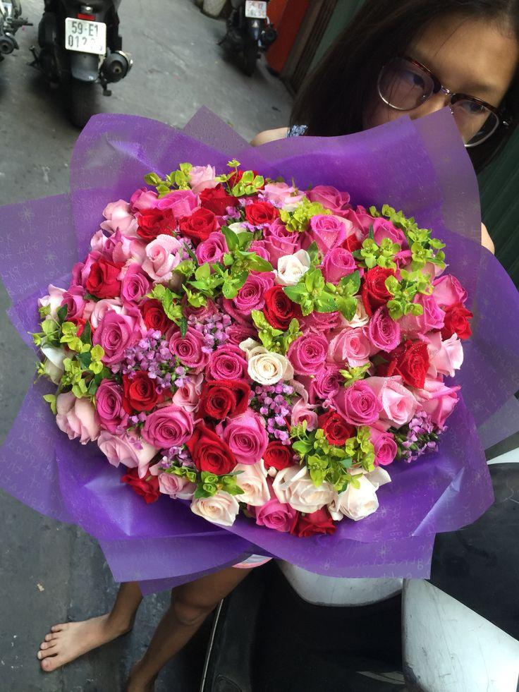 Flowers praping