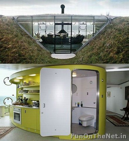 10 best UNDERGROUND HOUSES images on Pinterest | Underground homes Best Design For Underground Houses on best underground bunker designs, best underground home, best garage designs,
