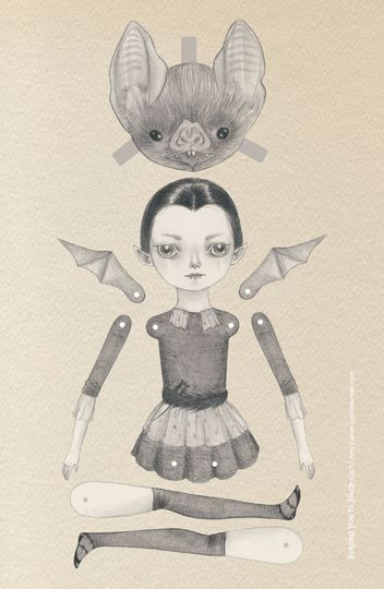 Paper doll with a difference