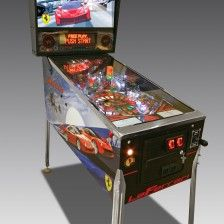 Bespoke pinball for your games room. A custom made 'La Ferrari' pinball featuring cars form our clients private motor collection.