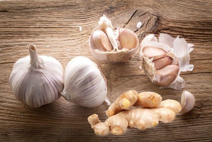 Garlic for sinus