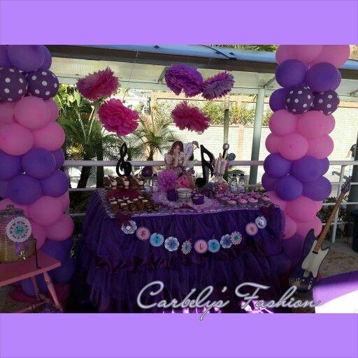 Violetta party idea