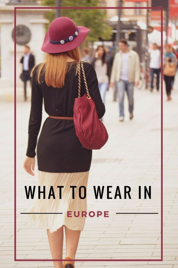 What to Wear in Europe to not Look like a Tourist When traveling to Europe, the key is to blend in with the locals in terms of dress and style. You should not dress as if you're off to the Oscar's nor should you look tousled or... #whattowearinparis #europepackingtips #whattopackforeurope