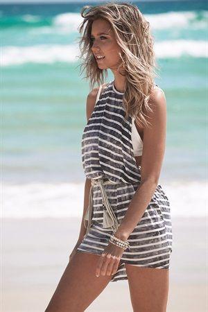 Buy Nautical Stripes Online - Women's Clothing & Fashion - SABO SKIRT