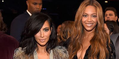 Welcome to Olusola Olaniyi's Planet blog : Beyonce and Kim Kardshian pictured together at Ser...