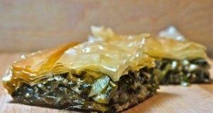 Greek Mixed Greens Pie -Χορτόπιτα