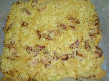 Blech-Spaghetti - Rezept