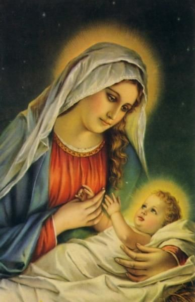 Mary and baby Jesus | In Bethlehem a Child was Born ...