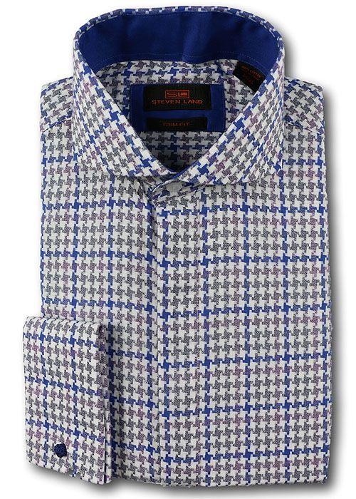 Steven Land Shirt # TA637 Blue