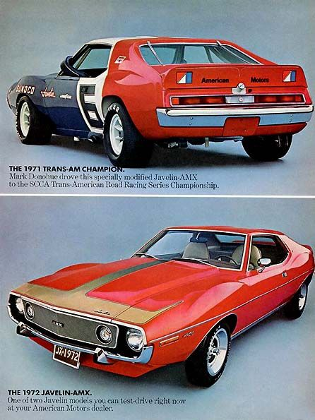 1972 AMC Javelin AMX