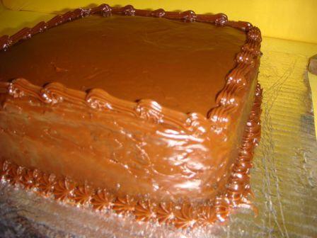 Queque de chocolate en microondas