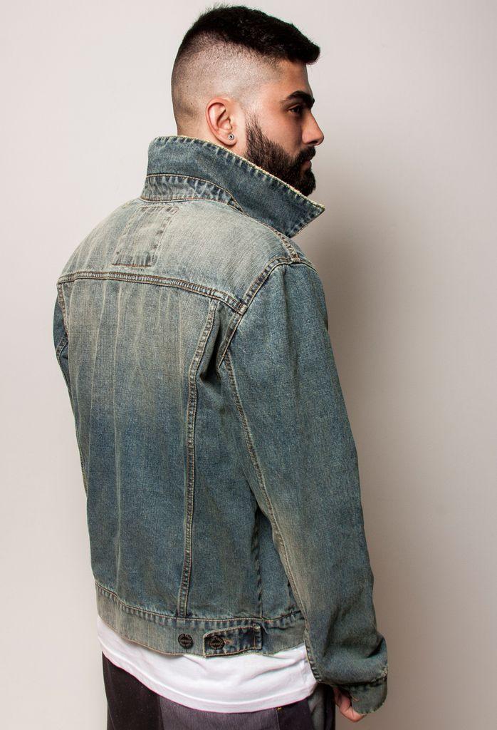 Chaqueta Denim / Denim Jacket - Wash 401 by beFREEclothing. #denim #denimjackets #chaquetasdenim #menswear #vestuariomasculino