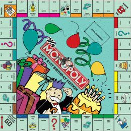 PERSONALISED MONOPOLY BOARD #21st birthday gift ideas http://www.giftgenies.com/presents/personalised-monopoly-board