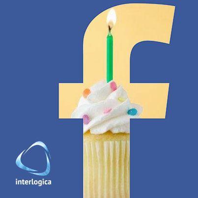 Facebook 10° anniversario.