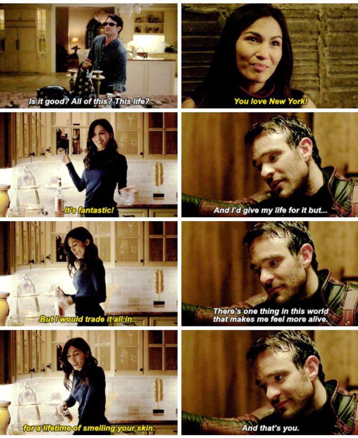 Elektra and Matt daredevil season 2