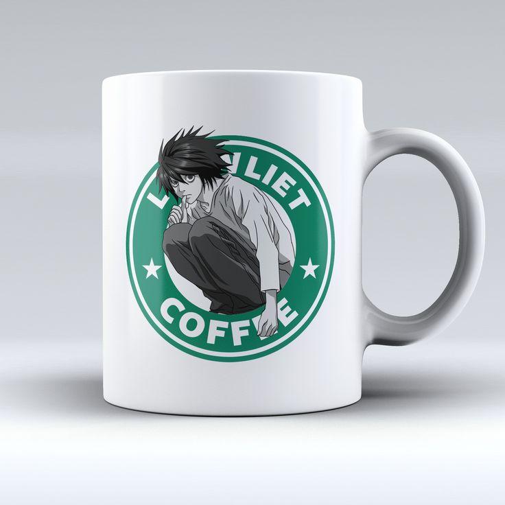 """Limited Edition - """"L Lawliet - Death Note"""" 11oz Mug"""