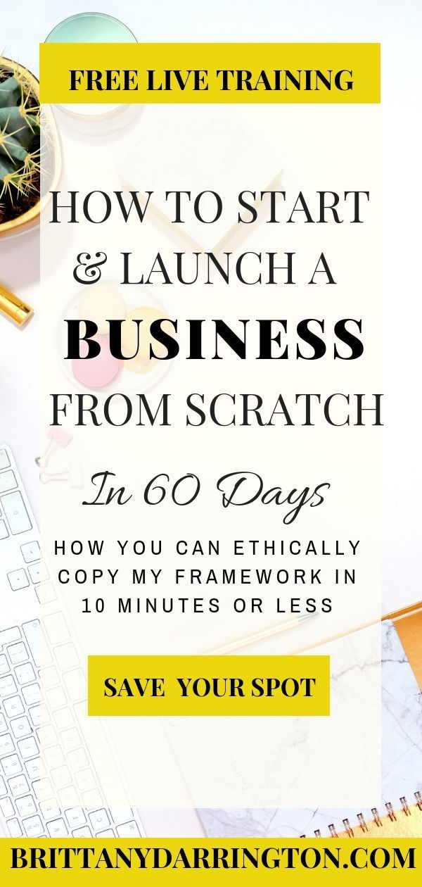 Learn How To Launch And Start Your New Business In My Free Live Training How To Start Launch A Business Fr Online Business Business Tutorial Product Launch
