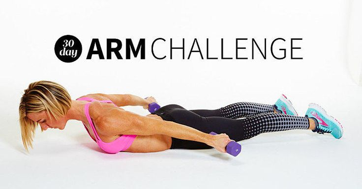 We teamed up with Kira Stokes, celebrity trainer and creator of the Stoked Method, to craft a 30-day arm challenge for super-strong and toned arms.