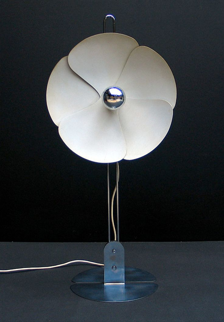 Flower table lamp Olivier Mourgue 1968