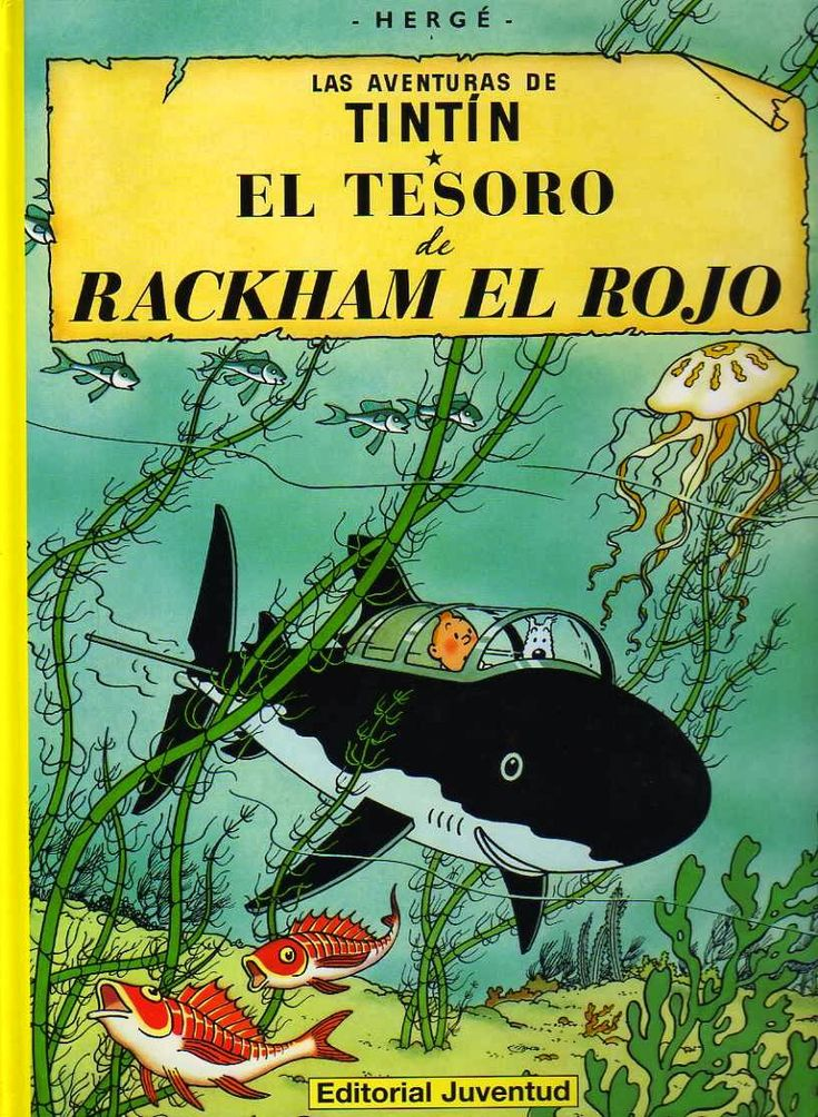 CATALONIA COMICS: TINTÍN - EL TESORO DE RACKHAM EL ROJO