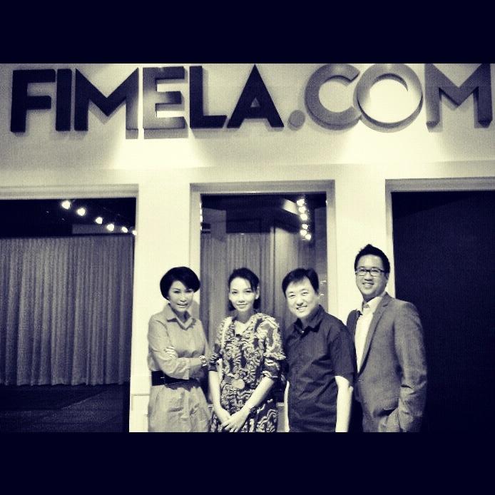 at Fimela.com with Bu Dian, Shinta & Ben