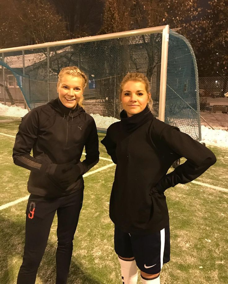 Ada & Andrine Hegerberg || Norway (Dec 20, 2017)