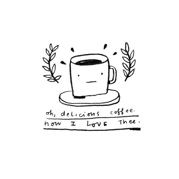 Mike Lowery captures our sentiments exactly with this adorable Tattly. Oh, Delicious Coffee is a perfect homage to the caffeinated cup.
