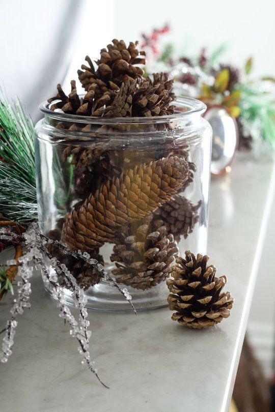 How To Make DIY Scented Pinecones — Apartment Therapy Tutorials | Apartment Therapy Main | Bloglovin'