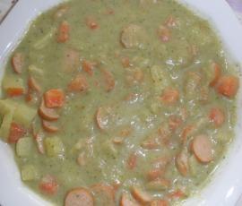 Rezept Kartoffelsuppe nach Oma Hilde's Rezept für den TM aufbereitet von Berweis - Rezept der Kategorie Suppen