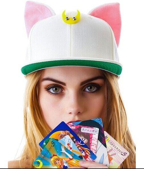 Fashion Hip Hop Hats Women 2017 Spring Summer Hot Sale Novelty Ear Baseball Cap Korean Ulzzang Harajuku Casual Snapback Caps