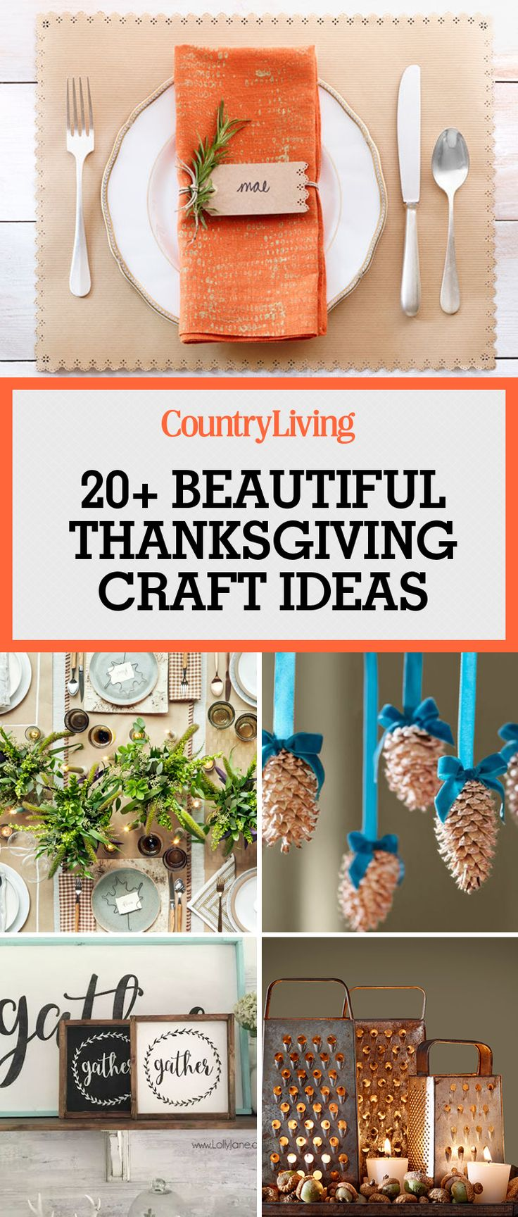 23 Easy And Beautiful Thanksgiving Craft Ideas