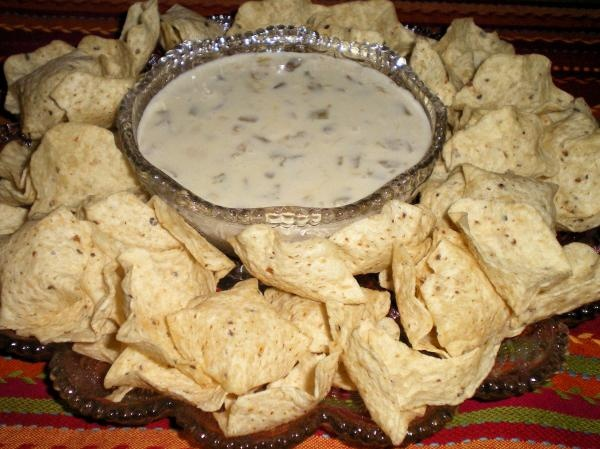 Queso dip like at the Mexican restaurants!  I have been craving this!