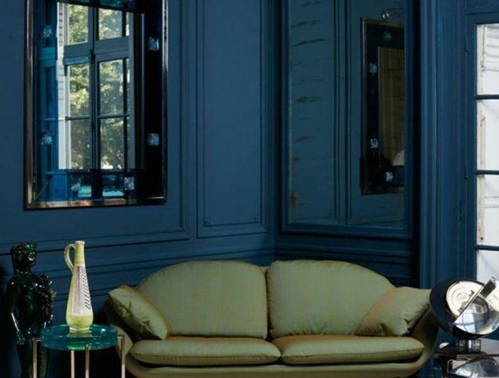 Tapis Bleu Vert Foncé : Meilleures idées à propos de murs vert foncé sur