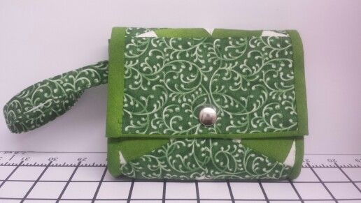 Wallet for that quick run to the grocery shop... nobody can live without it... so handy and cute